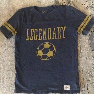 Gap kids legendary soccer vintage t-shirt